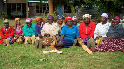 Image credit: McKay Savage. A Self-Help Group from Limuru fighting food insecurity