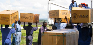 Delivery of Goods Funded by USAID